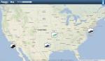 Zappos sipariş haritası